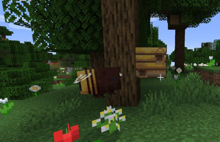 Minecraft Arı Kovanı Yapımı