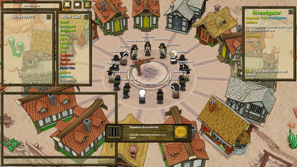 Town of Salem Oynanış Savunma ve Yargı