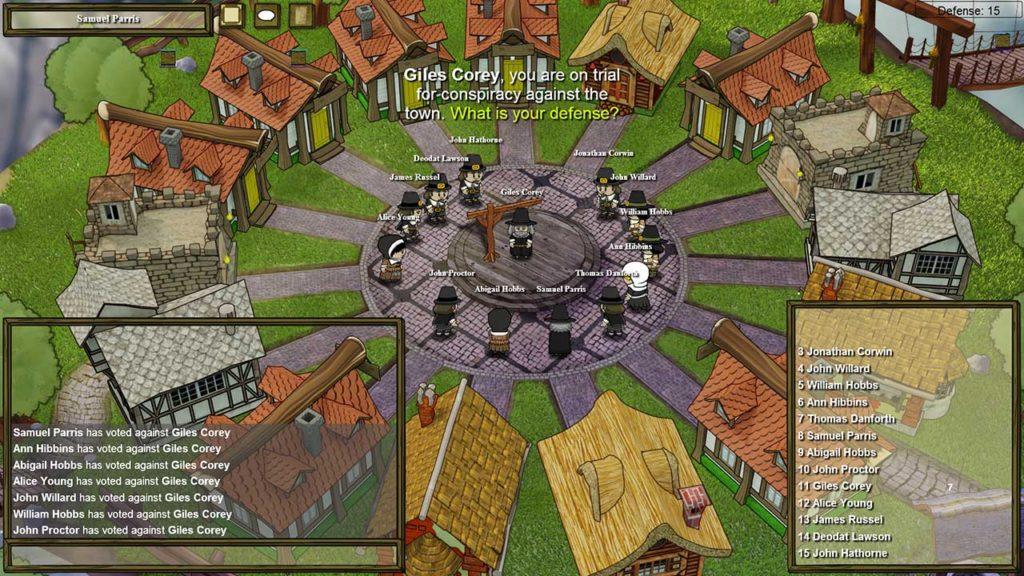 Town of Salem Oynanış Tartışma ve Oylama