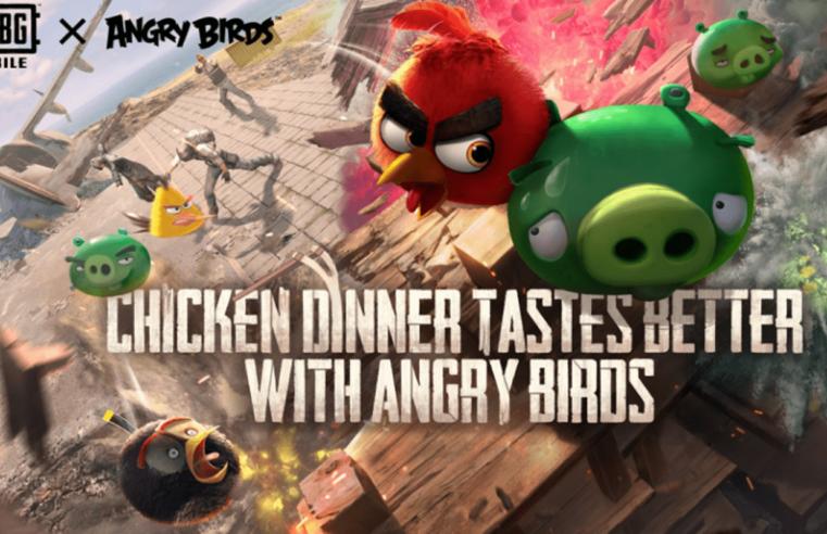 Pubg Mobile Angry Birds Güncellemesi Geldi