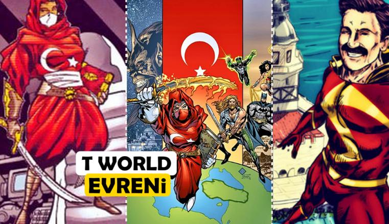 Yerli Süper Kahraman Sinematik Evreni: T-World