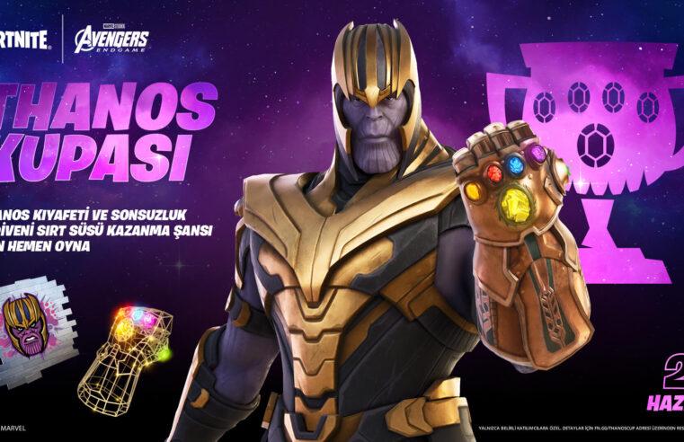 Thanos Fortnite Kostümü Olarak Geri Dönüyor!